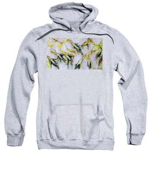 Fuchsia Eco Printed Magic Sweatshirt