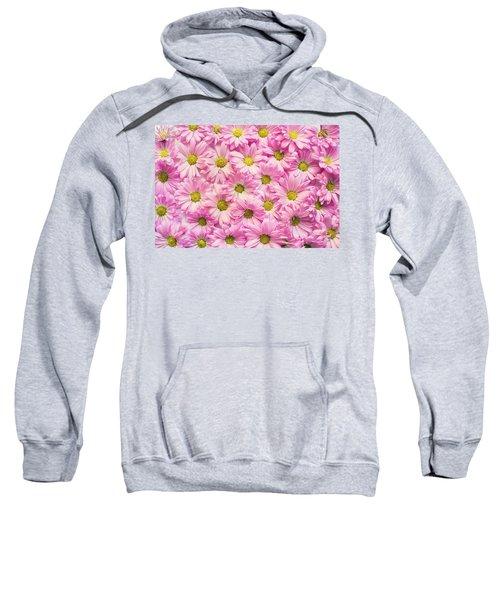 Full Of Pink Flowers Sweatshirt