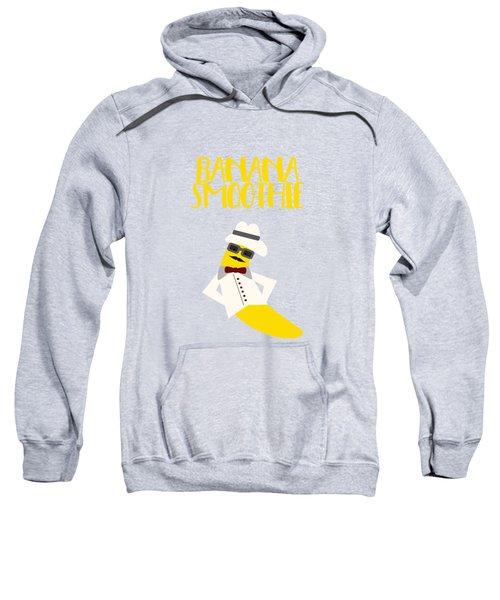 Funny Banana Smoothie With Text  Sweatshirt
