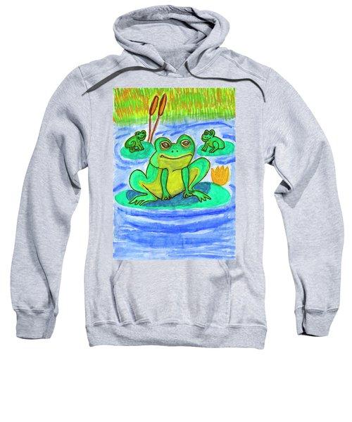 Funny Frogs Sweatshirt