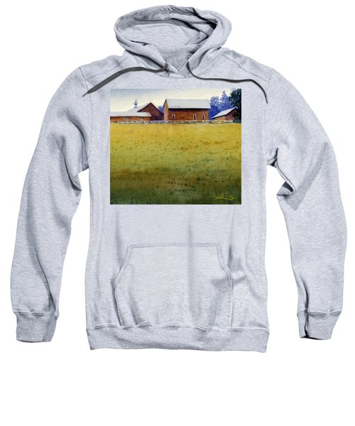 Garner Farm, Mineral Point, Wi Sweatshirt
