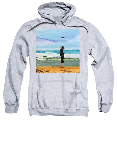 Gazing At Gulls Sweatshirt