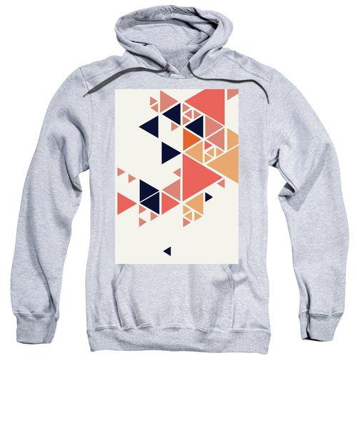 Geometric Painting 1 Sweatshirt