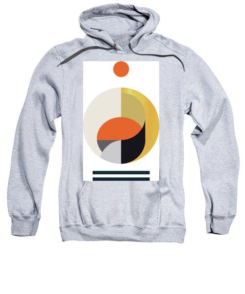 Geometric Painting 12 Sweatshirt