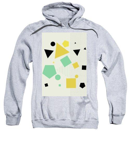 Geometric Painting 7  Sweatshirt
