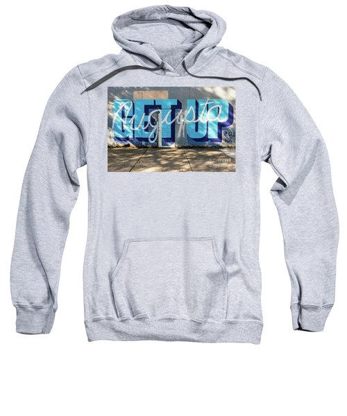 Get Up Augusta Ga Mural  Sweatshirt