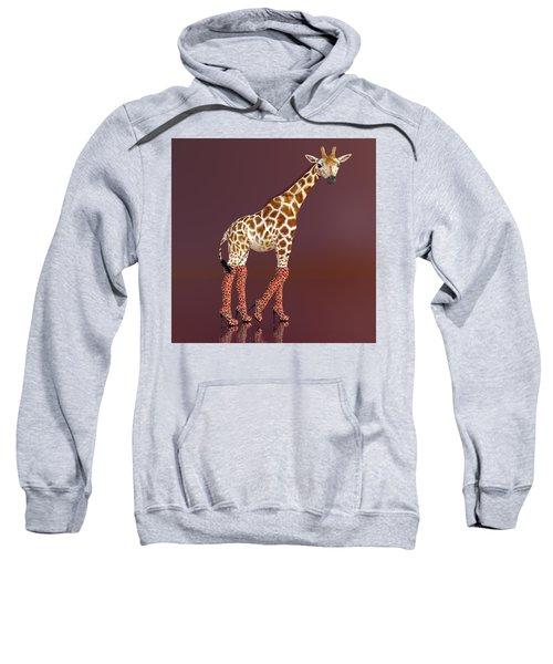 Living In A Modern World Sweatshirt