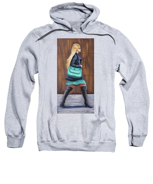 Girl Walking Sweatshirt