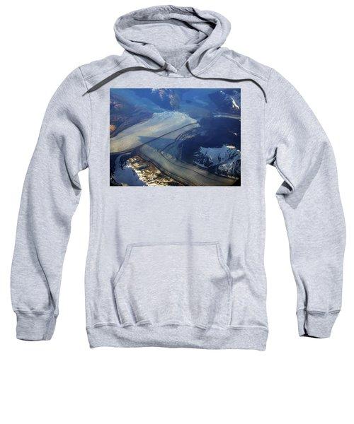 Glaciers Converge Sweatshirt