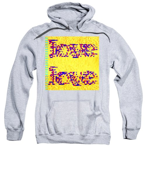Glitched Love Sweatshirt