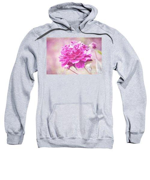 Glorious Pink Peony Sweatshirt