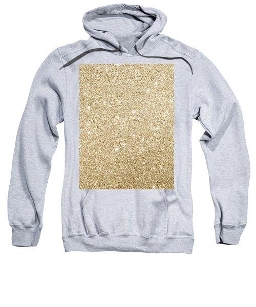 Gold Glitter Sweatshirt