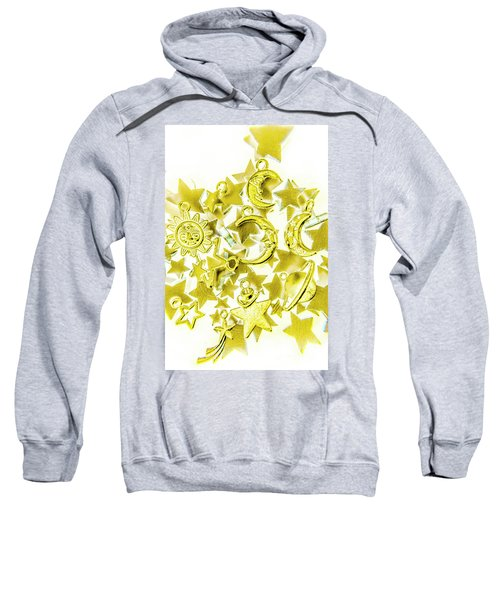 Golden Galaxy Sweatshirt