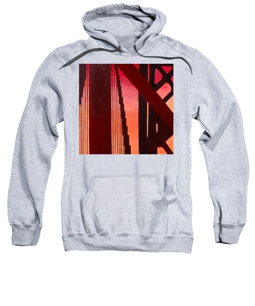 Golden Gate Art Deco Masterpiece Sweatshirt