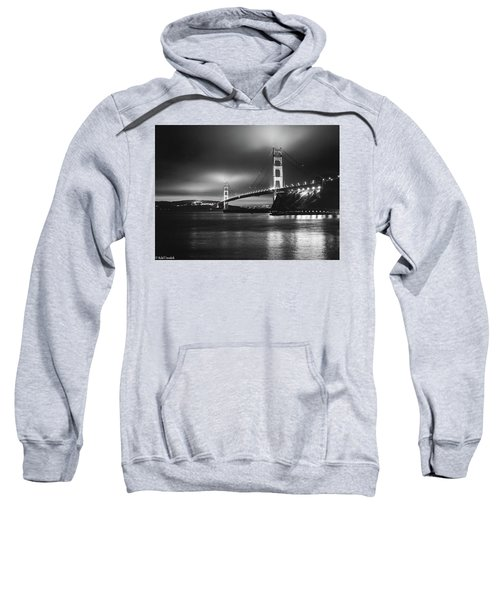 Golden Gate Bridge B/w Sweatshirt