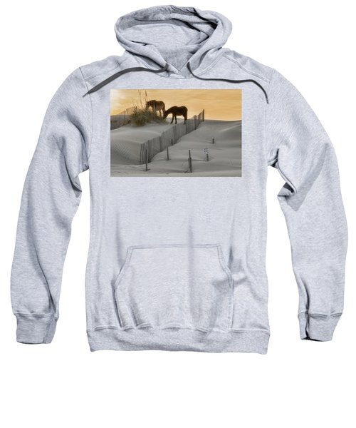 Golden Horses Sweatshirt
