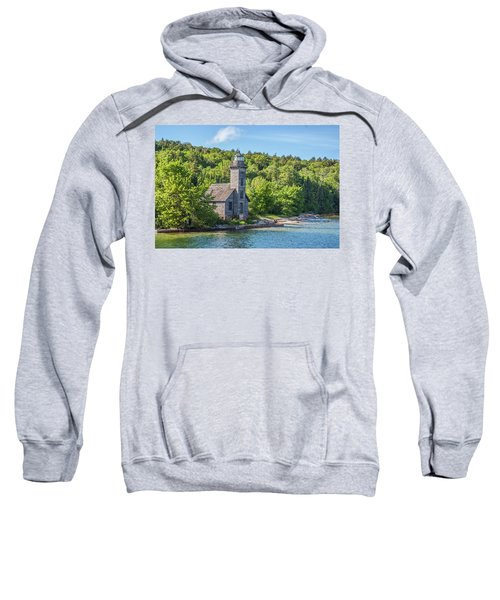 Grand Island East Channel Lighthouse, No. 2 Sweatshirt