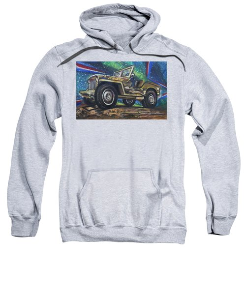 Grandpa Willie's Willys Jeep Sweatshirt