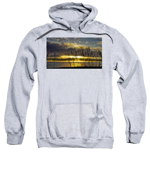 Grassy Shoreline Sunrise Sweatshirt