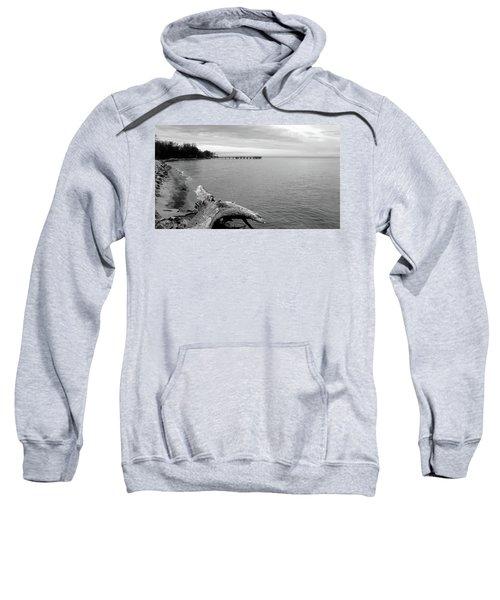 Gray Day On The Bay Sweatshirt