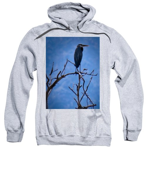Great Blue Heron 3 Sweatshirt