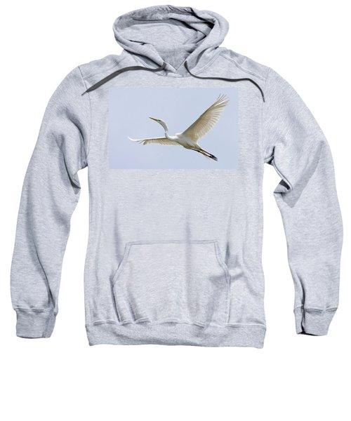 Great Egret 2 Sweatshirt