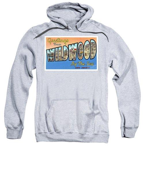 Wildwood Greetings - Version 4 Sweatshirt