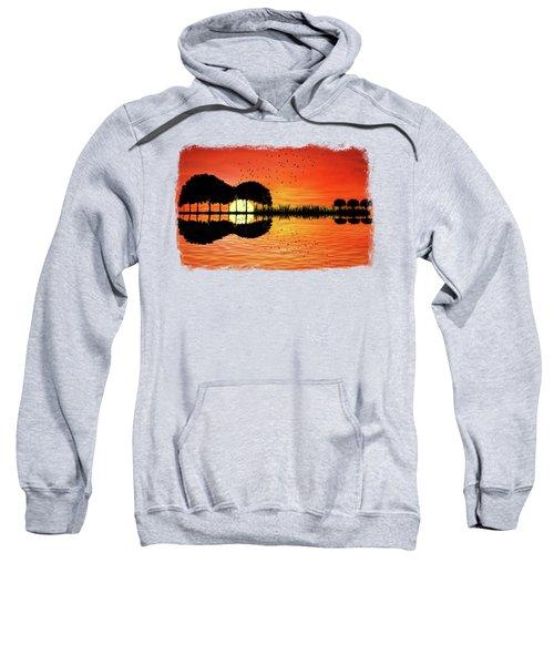 Guitar Island Sunset Sweatshirt