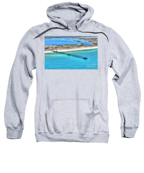 Gulf State Park Pier 7464p3 Sweatshirt