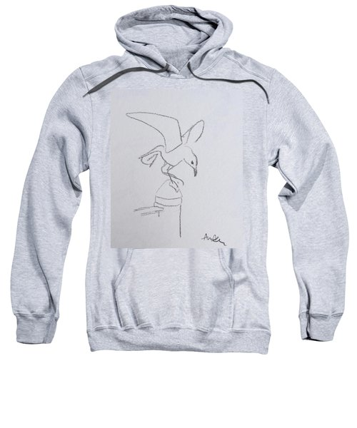 Gull On Pier Sweatshirt