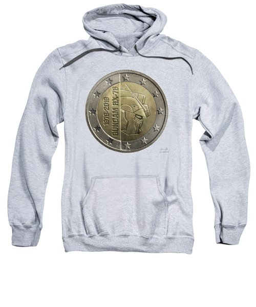 Gundam 40 Coin Light Gray Sweatshirt