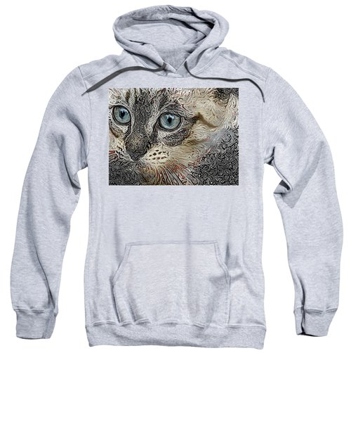 Gypsy The Siamese Kitten Sweatshirt