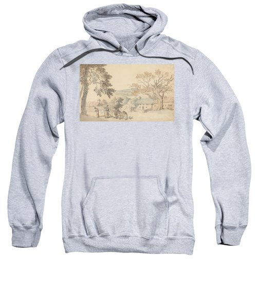 Harvesters Setting Out Sweatshirt