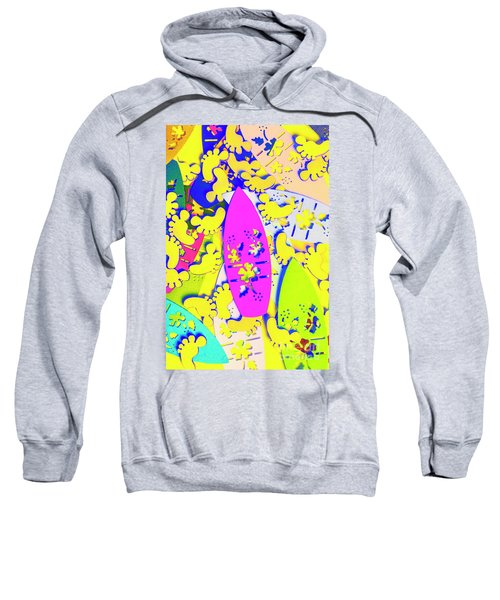 Hawaiian Design Sweatshirt