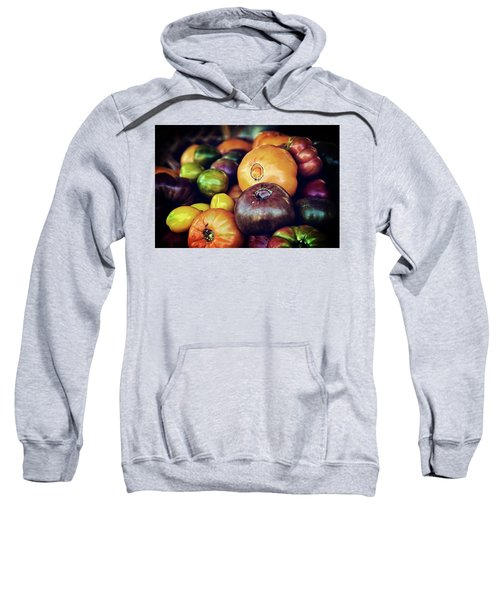 Heirloom Tomatoes At The Farmers Market Sweatshirt