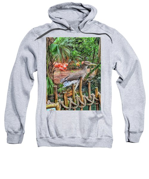 Heron On Guard Sweatshirt