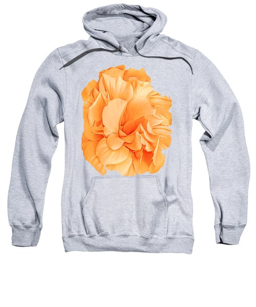 Hibiscus Rosa Double Petaled Yellow Sweatshirt