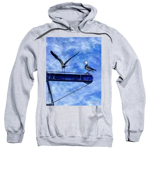 High Diving Gulls Sweatshirt