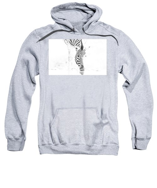 High Key Zebra Drinking Sweatshirt