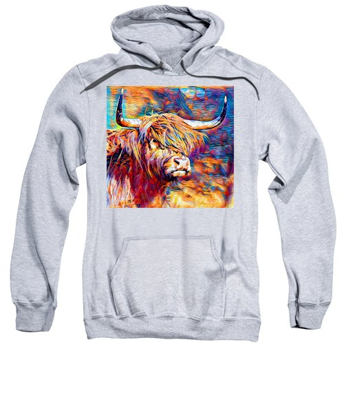 Highland Cow 6 Sweatshirt
