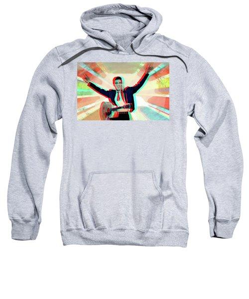 His Ray Elvis 3d Sweatshirt