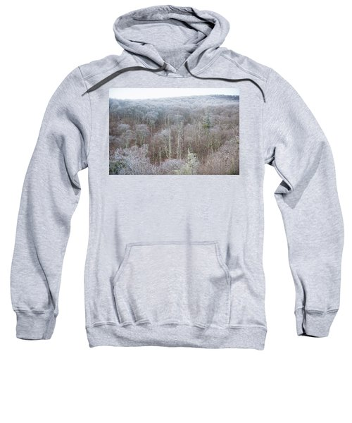 Hoarfrost In The Tree Tops Sweatshirt