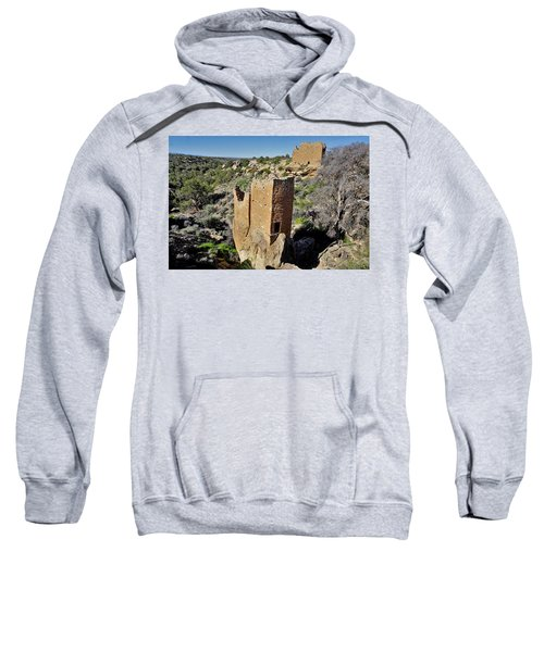 Holly Tower At Hovenweep Sweatshirt