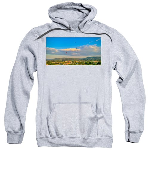 Hot Air Ballon Cluster Sweatshirt