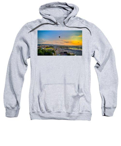 Hot Air Ballon Sunset Sweatshirt
