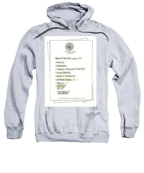 How To Pay For Wall  Sweatshirt