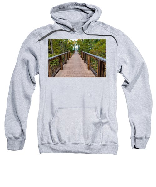 Hunter's Point At Copper Harbor Sweatshirt