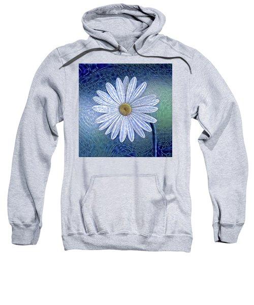 Ice Daisy Flower Sweatshirt