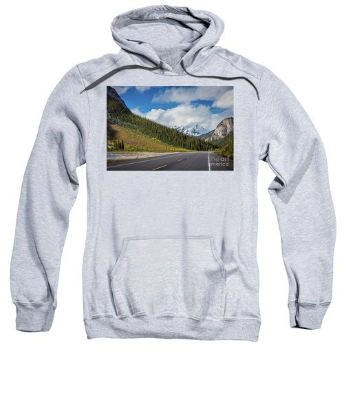 Icefields Parkway Mountains Sweatshirt