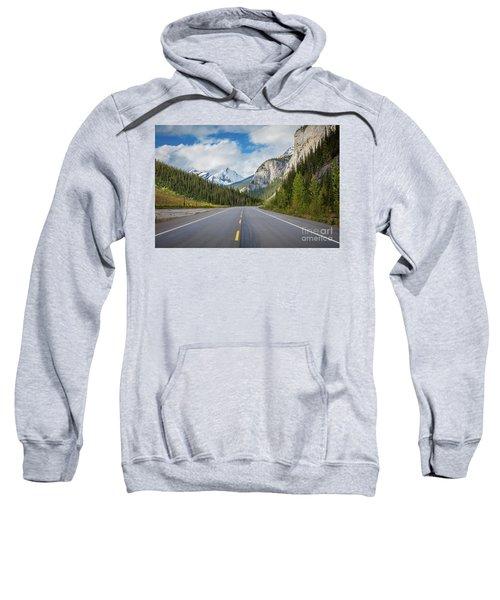 Icefields Parkway Peaks Sweatshirt